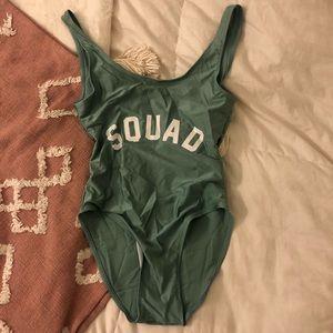 SQUAD one piece suit